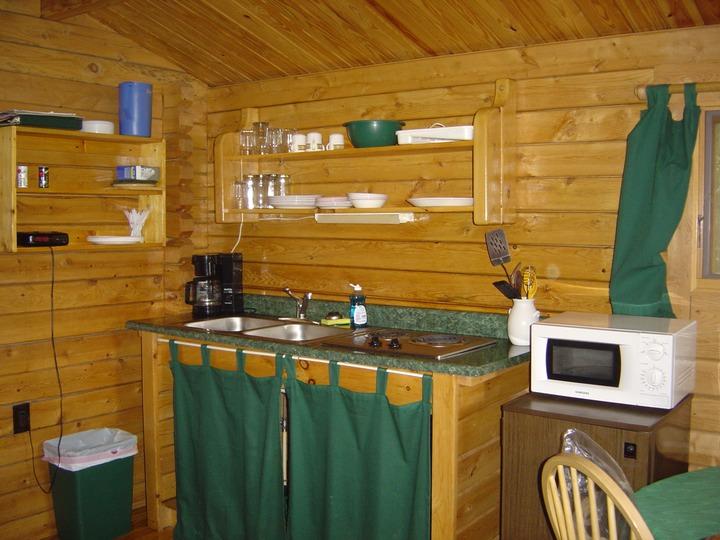 Kitchen Outfitters Inc Kitchen Area Shenandoah River Log Cabins Nancy  Sottosanti
